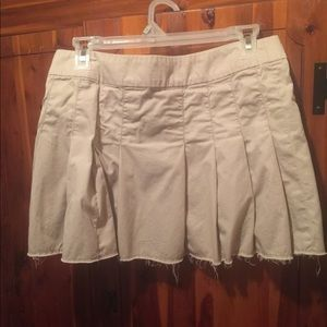 America Eagle Beige Skirt